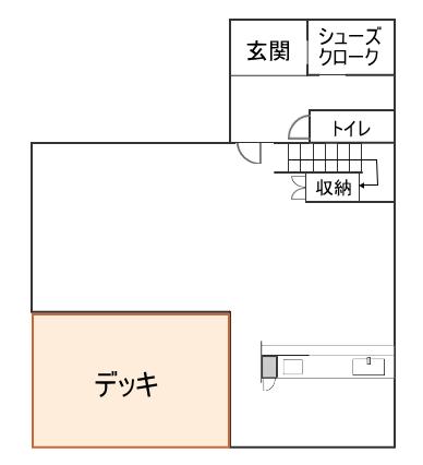 デッドスペース間取り図(家具無し)