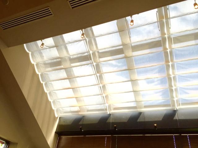 大きな天窓