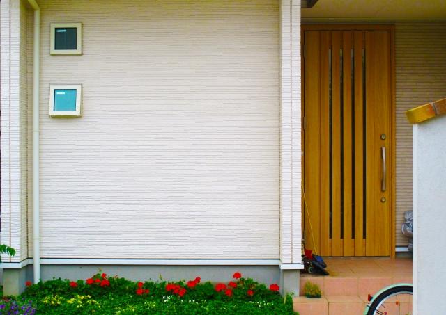 2世帯住宅の玄関