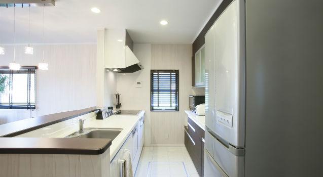 冷蔵庫を置くスペース