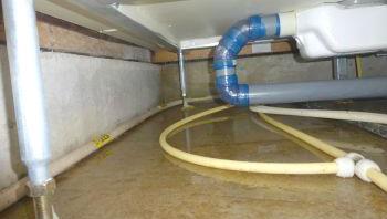 床下の漏水