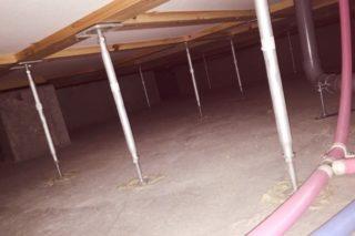 ホームインスペクションの床下・屋根裏の調査